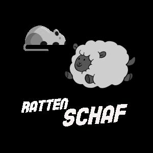 Ratten Schaf - Lustiges Schaf Shirt