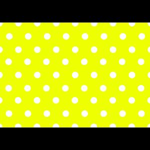 Punkte Pattern als Muster Design Grafik - Gelb