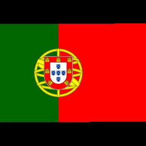 Portugiesische Flagge aus Portugal