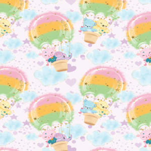 Heißlutballon Muster