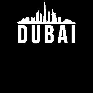Dubai Vereinigten Arabischen Emirate Skyline
