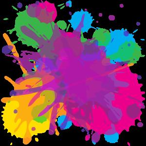 Farbspritzer, Splash, modern