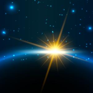 Weltraum, All, Erde, Sternenhimmel