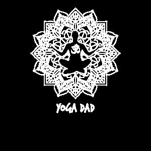 Yoga Dad lustiges Mandala Design für Väter