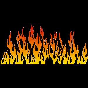 Flamme Flamme Feuer 1805 B.