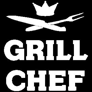 Grillchef BBQ Grillen Spruch
