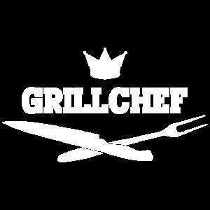 Grillen BBQ Spruch Grillchef
