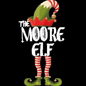 Moore Elf lustige Familie Weihnachten Matching