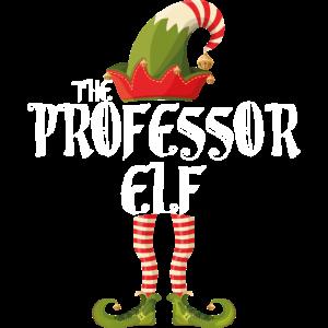Professor Elf Familie Weihnachten Matching