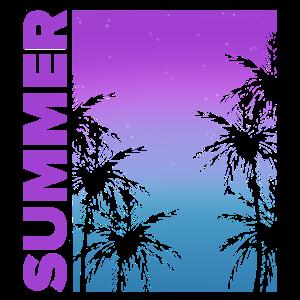 Palm Trees Summer | Sommer Palmen | Geschenkidee