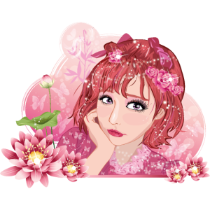 Rose Mädchen