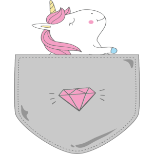 unicorn pocket