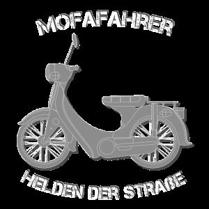 Mofafahrer Held Retro Lustiger Spruch Geschenk