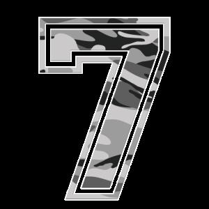 7 Camouflage Grau