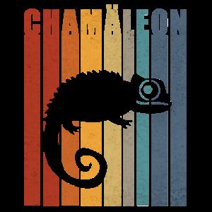 Chamäleon Eidechse Chameleon Geschenk