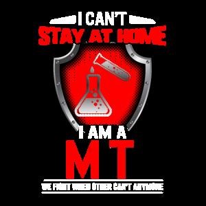MT kann nicht zu Hause bleiben Medizintechnikerin Frauen