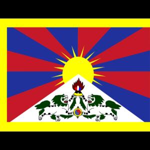 Tibetische Flagge