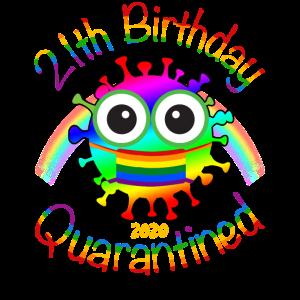 21. Geburtstag 2020 unter Quarantäne gestellt
