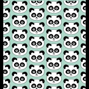 Niedliche Panda Gesichtsmaske