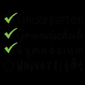 Abitur Schule Studium Abschlüsse Checkliste