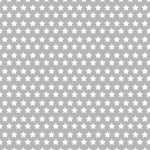 Muster Sterne grau (gemustert)