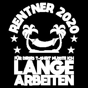 Rentner 2020 Palmen Hängematte Pension Ruhestand