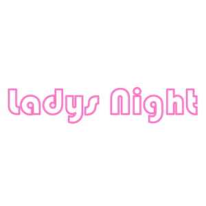 Ladys Night Neon Effekt Pink Party