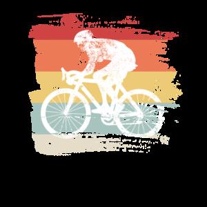 Retro Fahrrad Geschenk für Radfahrer