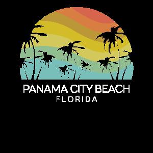 Panama City Beach Florida Retro State Sommerschlüssel