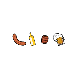 Grillen und Bier lustig Männer Geschenk Fleisch