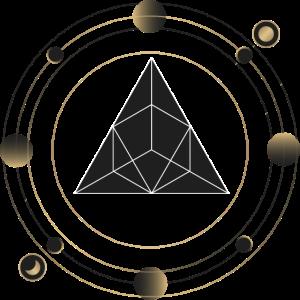 Halstuch Mundschutz - Heilige Geometrie Astrology