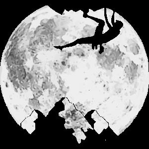 Auf den Mond klettern - Bergsteigen