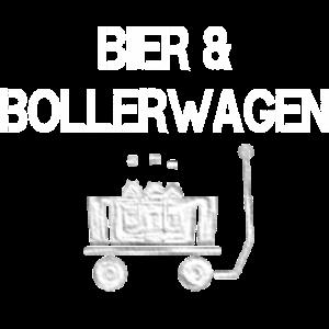Bier und Bollerwagen