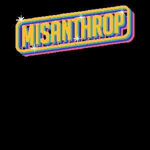 Misanthrop Introvertiert Zynisch Menschenhass