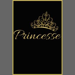 Poster - Princesse couleur or