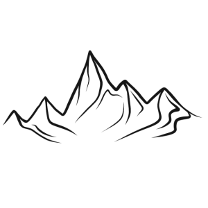 simple mountain line