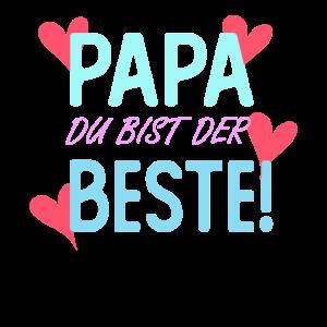 PAPA DU BIST DER BESTE GESCHENK VATERTAG T SHIRT