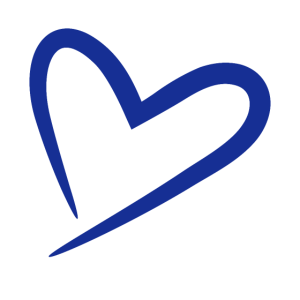 Herz Symbol Blau