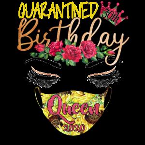 30. Geburtstag Königin 2020 Blume unter Quarantäne gestellt