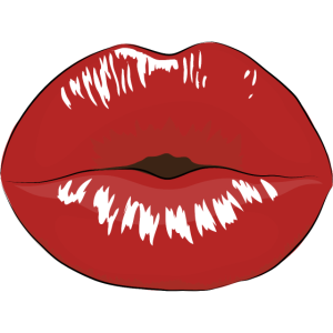 Damen Sommer Vintage Sexy Lippen - Sexy Lips Kiss