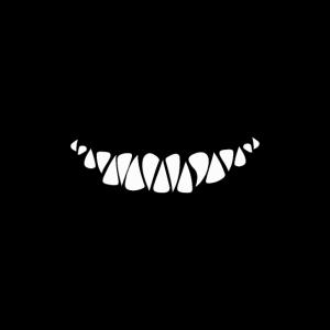 Gesichtsmaske Mund Nasenabdeckung Mund Zähne