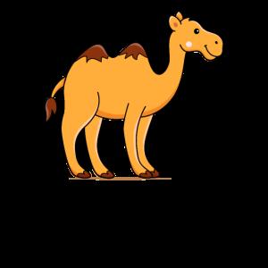 Kamel Comic Zeichnung