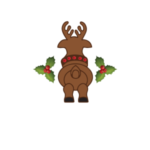 Merry Fitmas And A Happy New Rear Funny