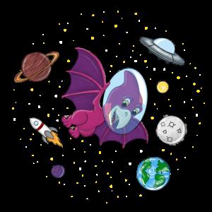 Flugsaurier im Weltall