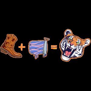King + Fish = Tiger