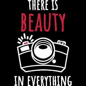 Fotografie T-Shirt mit Fotokamera Zeichnung