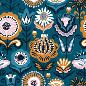 Blumen Dekor Muster