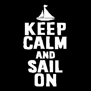 Sailor Gift - Keep Calm And Sail On