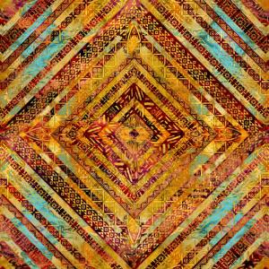 Stammes-ethnisches Boho-Muster