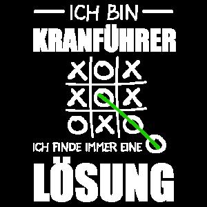 Kranführer Kran Baustelle Geschenk